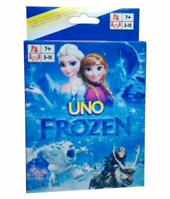 Uno Playing Card - Frozen (Elsa, Anna, Olaf) - Family Board Game - Free Shipping