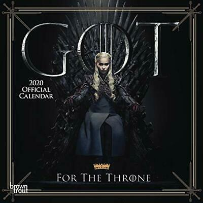 Game of Thrones 2020 Mini Wall Calendar - Game of Thrones 2020 Mini