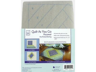 June Tailor Jnt1412  Kit Quilt As Go Ctn Poly Placemat Casa