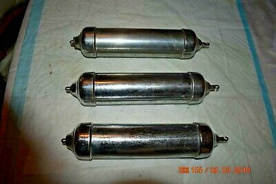 Antique Grandfather Clock Weights set of 3 for project
