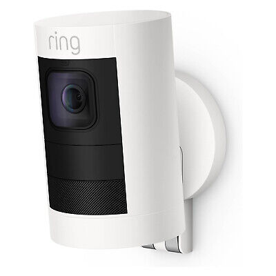 Ring Stick Up Cam 1080p Indoor/Outdoor Wireless Security Camera - 2nd Generation