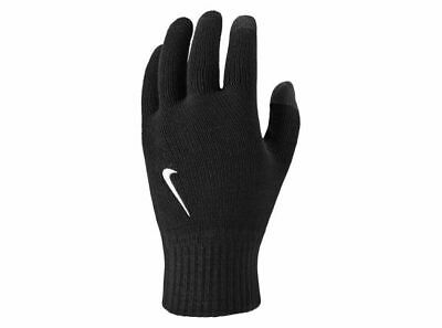 Nike Ya Youth Boys Tech and grip knitted gloves comfort kids girls black new