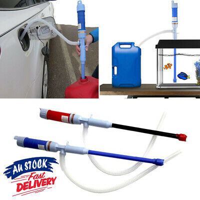 Water Electric Siphon  Hand Liquid Transfer Fishbowl Gas Power Pipe Pump Oil