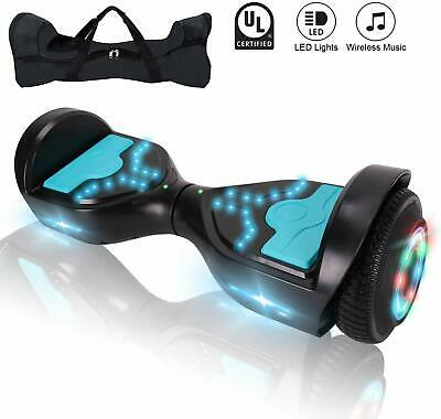 "6.5"" Hoverboard Bluetooth LED Electric Self Balance Scooter with Bag Xmas Gift"