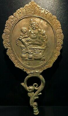 A beautiful ancient 900 years old Bronze Mirror probably from India