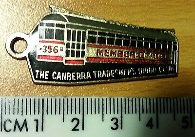 Canberra Tradesmen's Union Club Badge • 1987-88 • 356 Tram