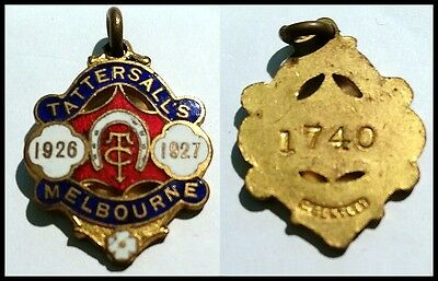 Tattersalls Club, Melbourne Badge • 1926/27