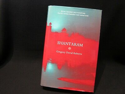 Gregory David Roberts - Shantaram - 2003 Hardcover - RARE!!!!!