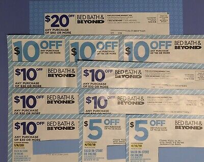 BEST COMBO Bed Bath & Beyond Coupons available! SAVE EXTRA! READ DESC for HowTo!