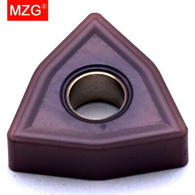 MZG 10PCS WNMG080408 Boring Tool Tungsten Carbide Cutter CNC Turning Inserts