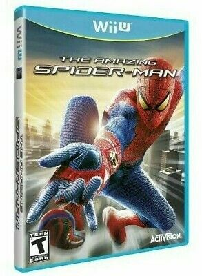 The Amazing Spider-Man Spiderman L'uomo Ragno Gioco Nintendo Wii U Wiiu Marvel