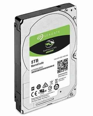 """Seagate 5TB 2.5"""" Barracuda, 5400RPM 15mm 128MB cache Notebook / Laptops HDD (..."""