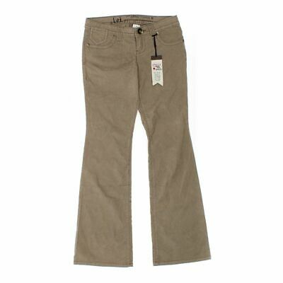 L.E.I. Girls  Pants size JR 3,  beige,  cotton, spandex