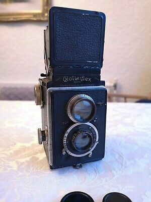 Rolleiflex Original Twin Lens Reflex TLR Film Camera Vintage