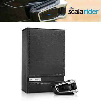 Cardo Scala Rider PackTalk Solo Bluetooth DMC Communication System RRP £329.95!!