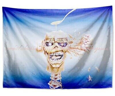 HFL0804 IRON MAIDEN LIFE /& DEATH FABRIC POSTER 30x40 WALL HANGING