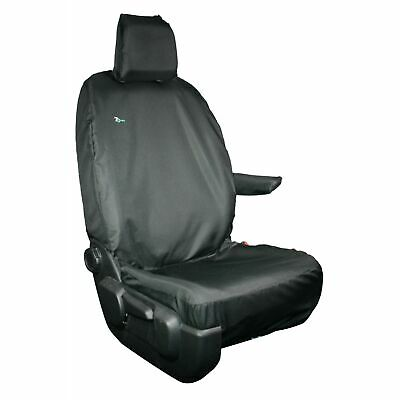 Citroen Dispatch 2016on Tailored Drivers Front Seat Cover Waterproof Black