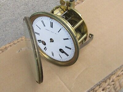 Antique French Mantle Clock Movement Only - Working