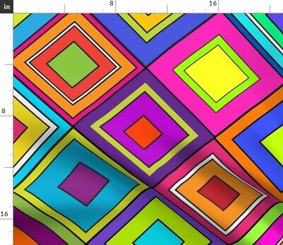 Wild Pucci Trina Turk Bright Colors Loud Fabric Printed by Spoonflower BTY