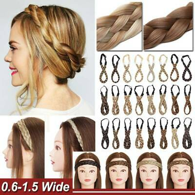 Thin Thick Crown Braid Headband Bohemian Vintage as Real Natural Hair Extension