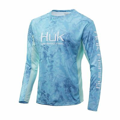 HUK Icon X Camo Performance Fishing Shirt--Pick Color/Size-Free Shipping