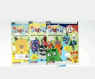 BLACK FRIDAY DEAL £10 *CBeebies Numberblocks maths programme 1-5, 6-10 and 11-20