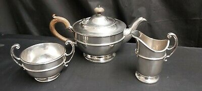 An Antique Silver Plated Tea Set By the famous Mappin And Webb.collectable.