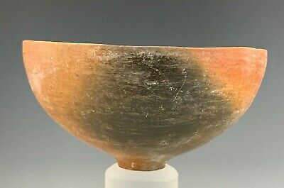 Ancient Holy Land Terra-Cotta Bowl; Bronze Age, 2500 B.c. W/ Potters Mark!