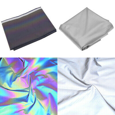 1M Stretch High Reflective Fabric Safety Night Warning Composite Clothing Sewing