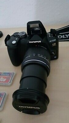 Olympus EVOLT E-510 10,0 MP Digitalkamera - Schwarz (Kit mit 14-42mm 3.5-5.6...
