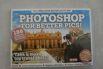+ Photoshop - Take And Make Top Travel Shots [Pc Cd-Rom] Oz Seller