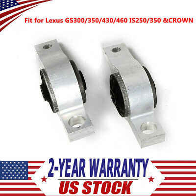 ROCAR Front Lower Control Arm Bushing Fits GS300//350//430//460 IS250 IS350 06-10