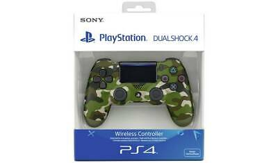 Sony PS4 DualShock 4 V2 Wireless Controller Green Camo Genuine Brand New Sealed