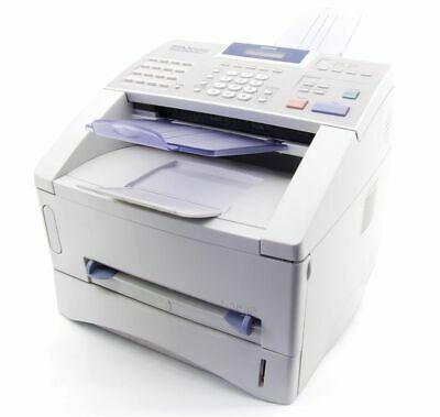 Brother FAX-8360P Monochrome B/W Laser Fax Machine White 33.600bps 3600 Pages