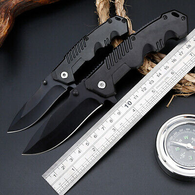Folding Knife Tactical Survival Knives Hunting Camping Climbing Steel Blade edc