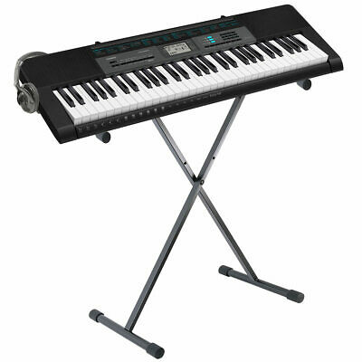 Music Keyboard/Piano Black with Stand,110 Song Bank Tunes,Full-Size Piano Casio