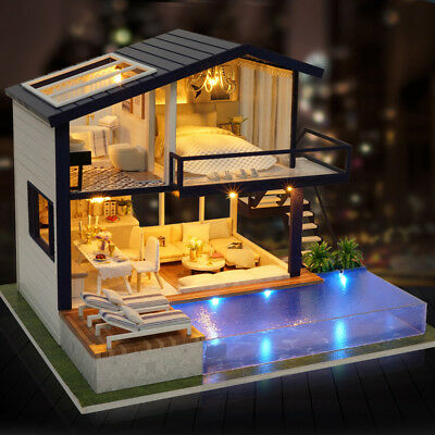 LOL SURPRISE DOLL HOUSE Made with REAL WOOD - Furniture Diy House kids Gift