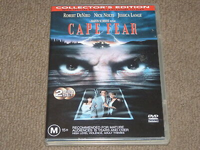 Cape Fear - R4 (2 Disc Collector's Edition DVD) Martin Scorsese Robert De Niro