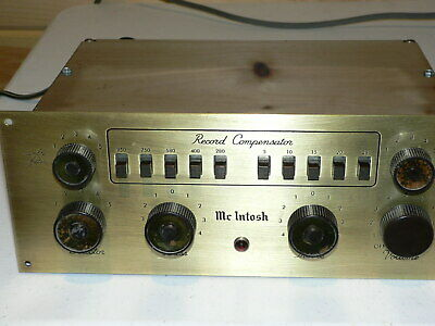 1 Mcintosh C-8 Preamp (Serviced Working)