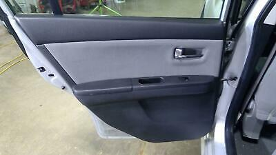2010-12 Nissan Sentra LH Driver Side Rear Door Trim Panel Charcoal-X