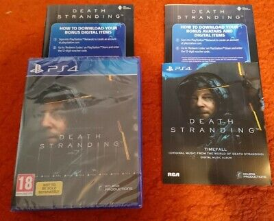 Death Stranding + DLC (PlayStation 4, PS4) BRAND NEW & SEALED