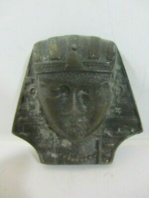 Vintage - Egyptian Pharoah Head Belt Buckle    VGC  (1119J)