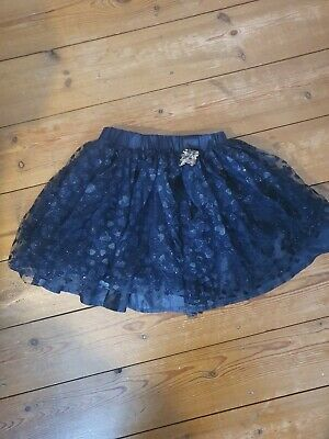 Billie Blush Blue Tutu Style Skirt Age 6