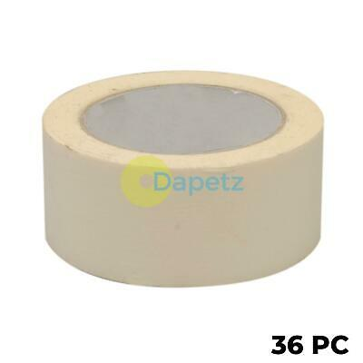 36x Masking Tape Paint Decorate Label Low Tack Multi-purpose DIY 50mmx50m Roll