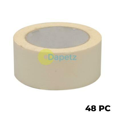 48x Masking Tape Paint Decorate Label Low Tack Multi-purpose DIY 50mmx50m Roll