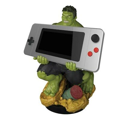 """Official Hulk XL Cable Guy 12"""" Switch, PS4, Xbox One Controller, Phone Holder"""