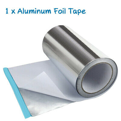 "2/"" x 150/' roll of Aluminum Foil Tape 2.0 mil Thickess Radiant Barrier Scif"