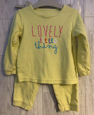 Girls Age 2-3 Years - Pyjamas 'Lovely Little Thing' From George