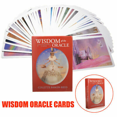 52pcs Wisdom of the Oracle Divination Cards Deck by Colette Baron-Reid J8F0Q