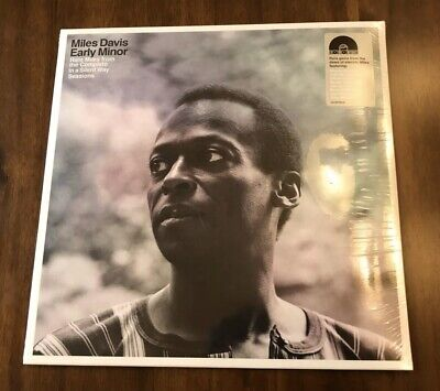 Miles Davis Early Minor From Silent Way Lp Vinyl 2019 Rsd Black Friday Limited